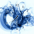 Exploded clock — Foto Stock