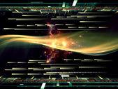 Technology Visualization — Stock Photo