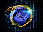 механизм глобального тропы — Стоковое фото