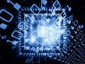 Computing Signals — Stock Photo
