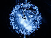 Technologie van tijd — Stockfoto