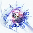 Abstract clock background — Stock Photo #11240980