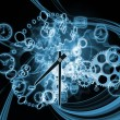 Time gears — Stock Photo #11241181