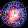 Stock Photo: Zodiac clock