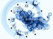 Clock gears — Stock Photo