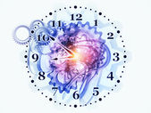 Clock dynamic — Stock Photo