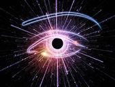 ögat av singularity — Stockfoto