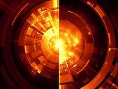 Technologie tunnel — Stockfoto