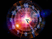 Clock backdrop — Stock Photo