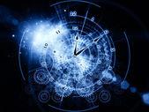 Time gears — Stockfoto