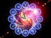 Czas zodiaku — Zdjęcie stockowe