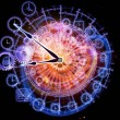 Time dynamic - Foto Stock