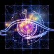 Eye of technology - Foto Stock