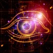 Abstract technology eye — Foto Stock