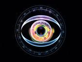 Iris van technologie — Stockfoto