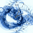 Abstract clock background — Stock Photo #11421837