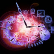 Stock Photo: Time intervals