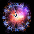 Clock universe — Stock Photo #11423973