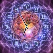 Zodiac clock — Stock Photo #11424320