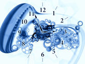 Gears of time — Stock Photo