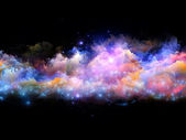 Abstract clouds and lights — Stock Photo