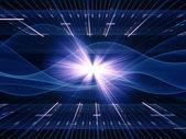 огни технологии — Стоковое фото