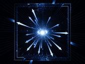 Light burst — Stock Photo