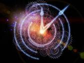 Clock abstraction — Stock Photo