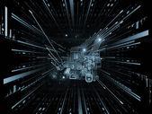 Advance of Computing — Stock Photo