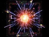 Energy of CPU — Stock Photo