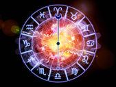 Abstract Zodiac background — Stock Photo