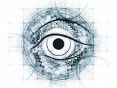 Fraktální vidění abstrakt — Stock fotografie