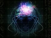 Hersenen macht — Stockfoto