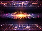 Technologia muzyki — Zdjęcie stockowe