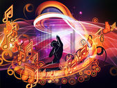 Magic of Music — Stock Photo
