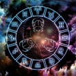 Royalty-Free Stock Photo: Astrology Background