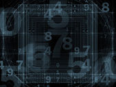 Number Abstraction — Stock Photo