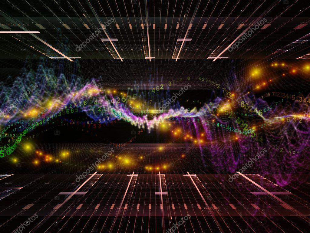 Digital Signal Wallpaper Virtual Reality And Signal