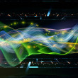Sine Wave Abstraction — Stock Photo