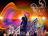 Elements of Music — Stock Photo