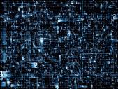 Digitala nätverk — Stockfoto