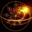Astrology Dial — Stock Photo #11840281
