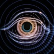 Eye of artificial intelligence — Stock Photo #11840366