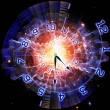 Abstract clock background — Stock Photo #11840446