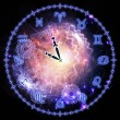 Horoscope clock — Stock Photo