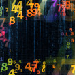 Colorful Numbers — Foto Stock