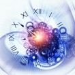 Surreal clock concept — Stock Photo #11840700