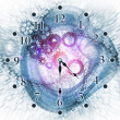 Stock Photo: Abstract clock