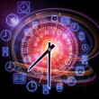 Dynamic of time - Stock Photo