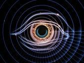 Eye of artificial intelligence — Stock Photo
